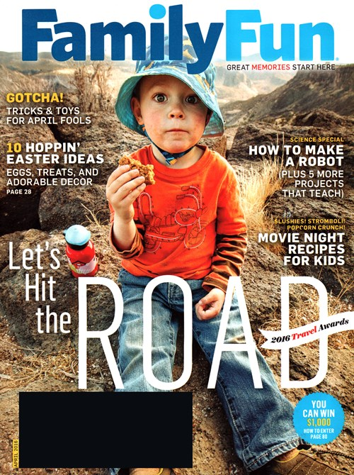 1-Yr Family Fun Magazine Subscription