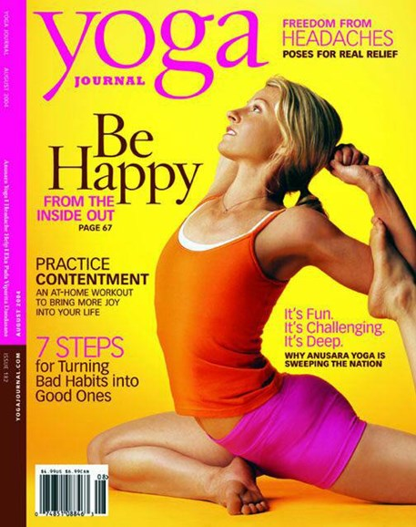 Yoga Journal Cover - 9/23/2004