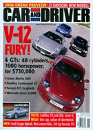 Car And Driver Magazine 7/23/2004
