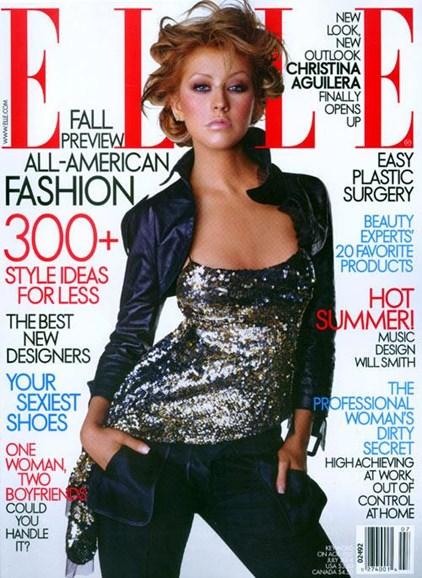 ELLE Cover - 7/1/2004