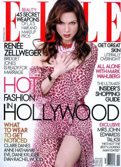 ELLE Cover - 11/1/2004