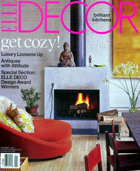 ELLE DECOR Cover - 10/26/2004