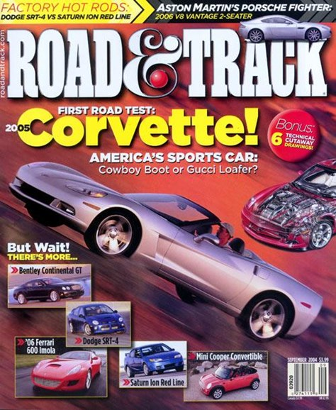 Road & Track Cover - 8/9/2004