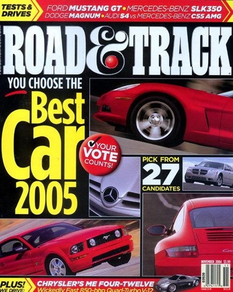 Road & Track Cover - 10/18/2004