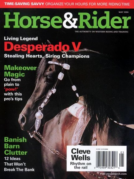 Horse & Rider Cover - 4/28/2004