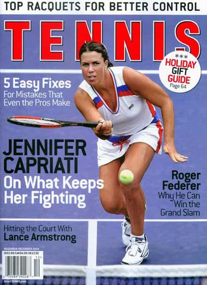Tennis Magazine Cover - 10/26/2004