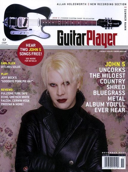 Guitar Player Cover - 9/28/2004