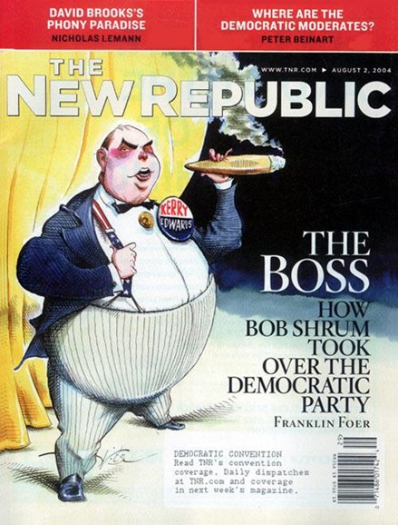 The New Republic Cover - 8/9/2004
