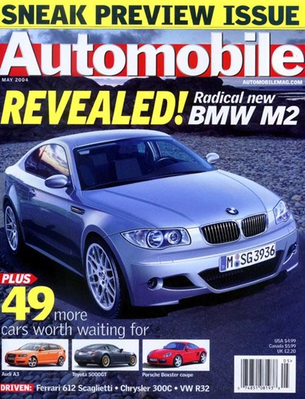 Automobile Cover - 4/12/2004