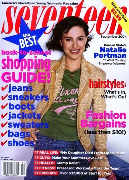 Seventeen Cover - 9/1/2004