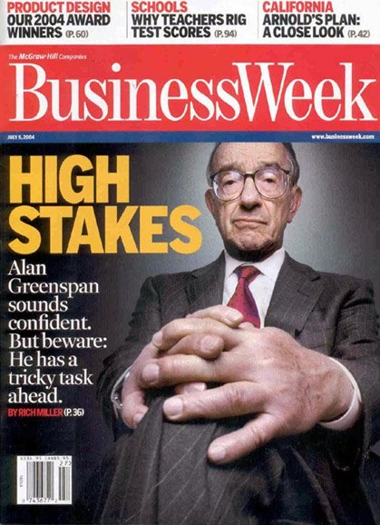 Bloomberg Businessweek Cover - 7/1/2004