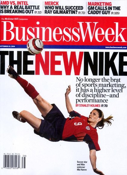 Bloomberg Businessweek Cover - 9/14/2004