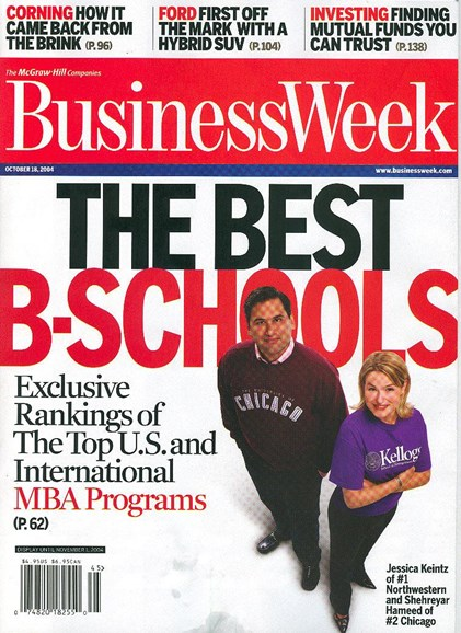 Bloomberg Businessweek Cover - 10/13/2004