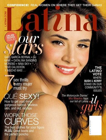 Latina Cover - 9/23/2004