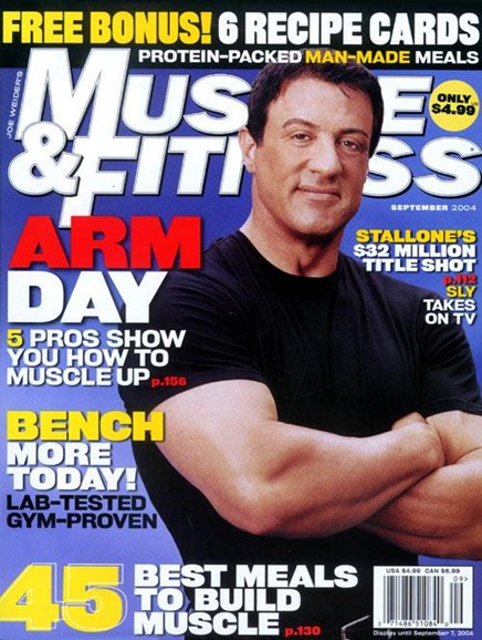 Muscle & Fitness Cover - 8/9/2004