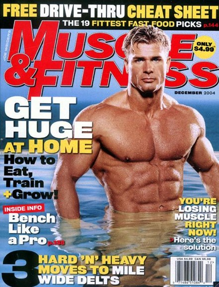 Muscle & Fitness Cover - 11/8/2004