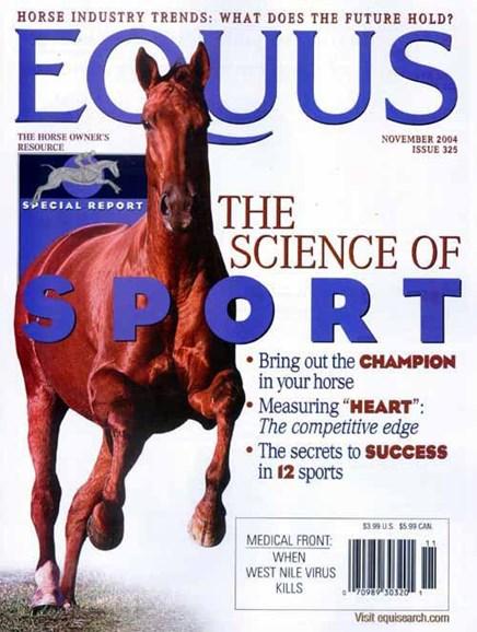 Equus Cover - 10/26/2004