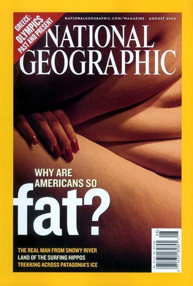 National Geographic Cover - 8/3/2004