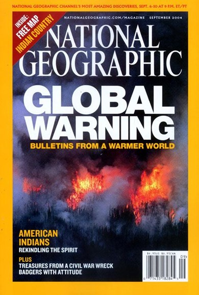 National Geographic Cover - 9/8/2004