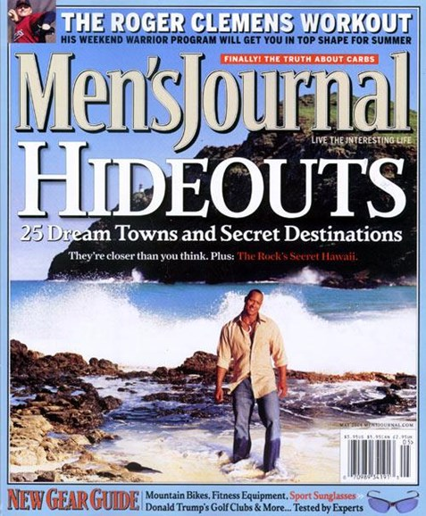 Men's Journal Cover - 4/2/2004