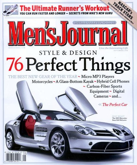 Men's Journal Cover - 8/9/2004