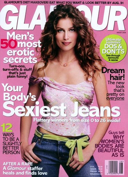 Glamour Cover - 7/23/2004