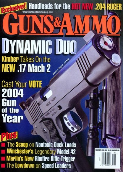 Guns & Ammo Cover - 11/1/2004