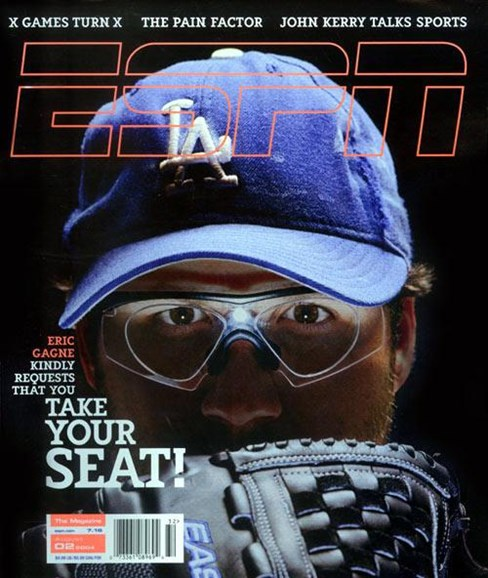 ESPN The Magazine Cover - 7/27/2004