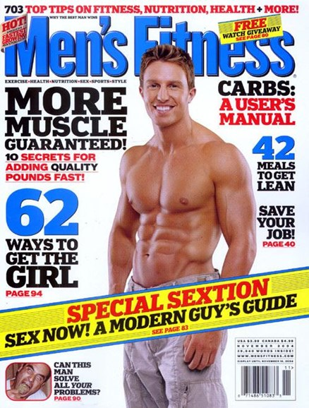 Men's Fitness Cover - 10/18/2004