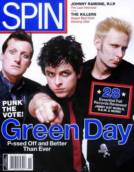 Spin Cover - 10/26/2004
