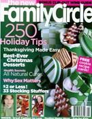 Family Circle Magazine 11/8/2004