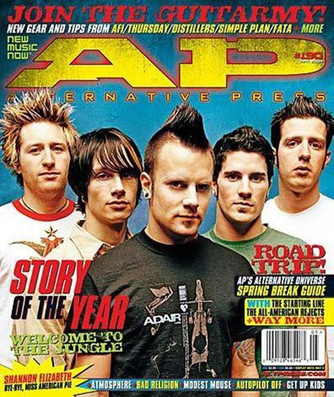 Alternative Press Cover - 4/14/2004