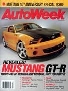 Autoweek Magazine 4/23/2004