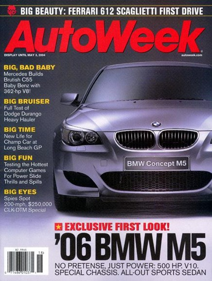 Autoweek Cover - 4/29/2004