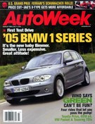Autoweek Magazine 7/7/2004