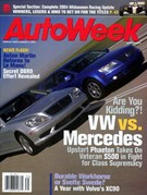 Autoweek Magazine 8/3/2004