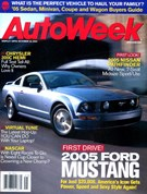 Autoweek Magazine 10/13/2004