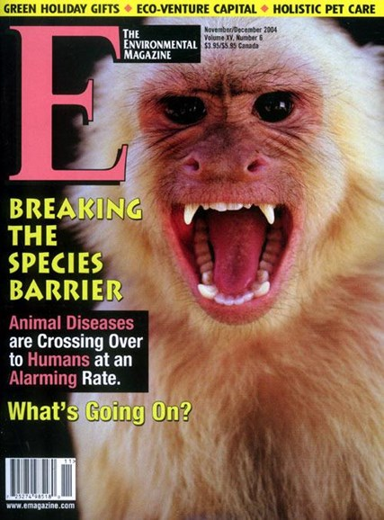 E: The Environment Magazine Cover - 11/8/2004