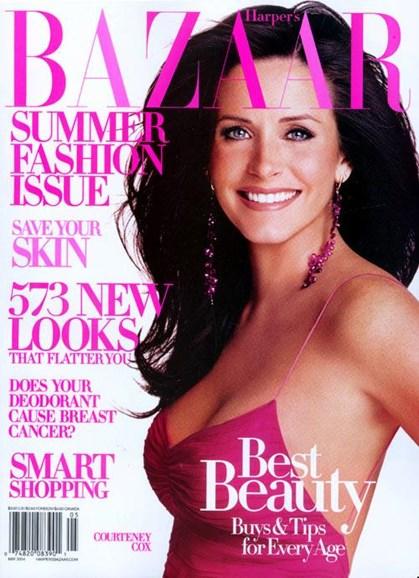 Harper's Bazaar Cover - 4/23/2004