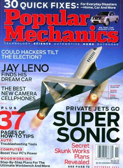 Popular Mechanics Cover - 11/1/2004