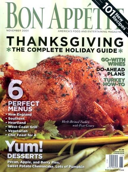 Bon Appétit Cover - 10/18/2004