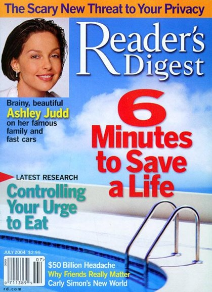 Reader's Digest Cover - 6/21/2004