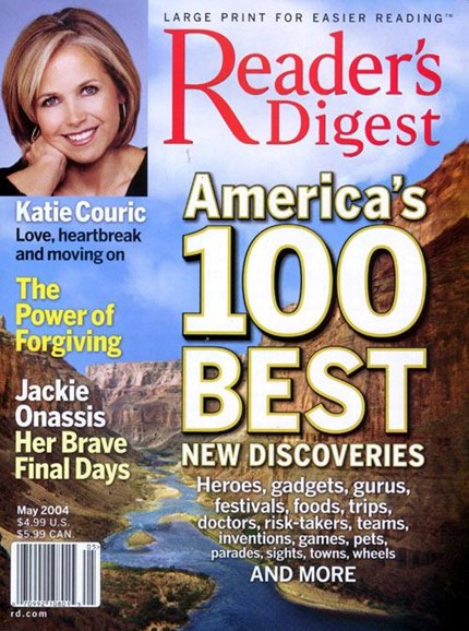 Reader's Digest - Large Print Edition Cover - 4/23/2004