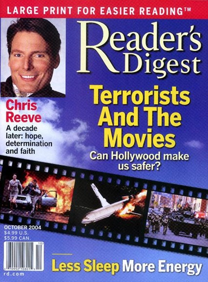 Reader's Digest - Large Print Edition Cover - 9/28/2004