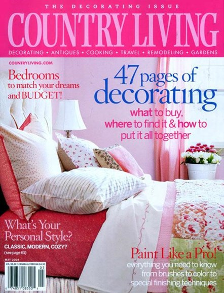 Country Living Cover - 4/2/2004