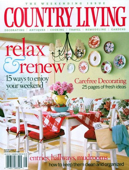 Country Living Cover - 7/7/2004