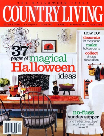 Country Living Cover - 9/8/2004