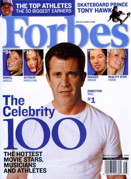 Forbes Cover - 6/21/2004