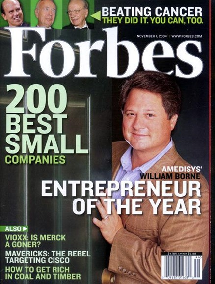 Forbes Cover - 10/18/2004