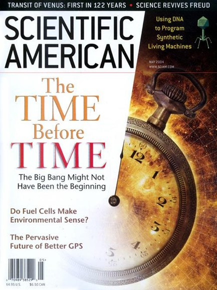 Scientific American Cover - 4/23/2004